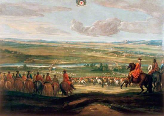 Marlborough at the Battle of Bouchain