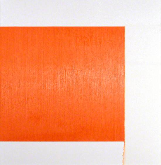 Exposed Painting, Cadmium Red Pale,Orange