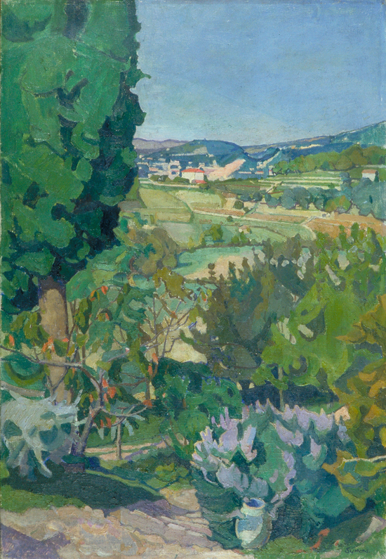 View of Grasse