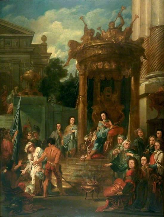 King William III (1650–1702) as Solomon