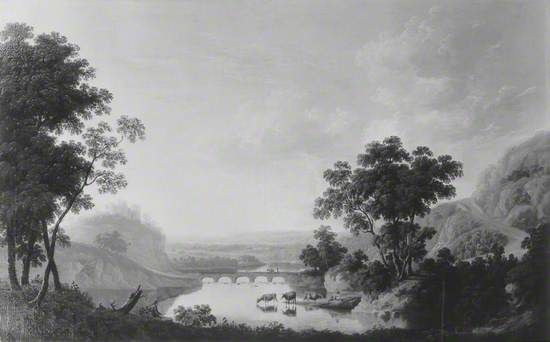 Landscape with River and Ruined Castle