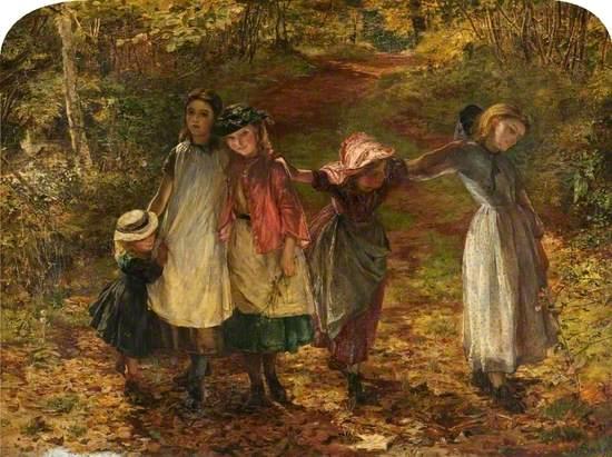 Children Coming from School