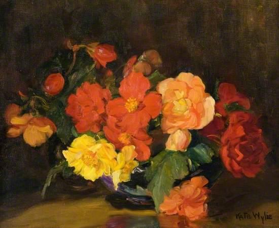 Flowers (Begonias)