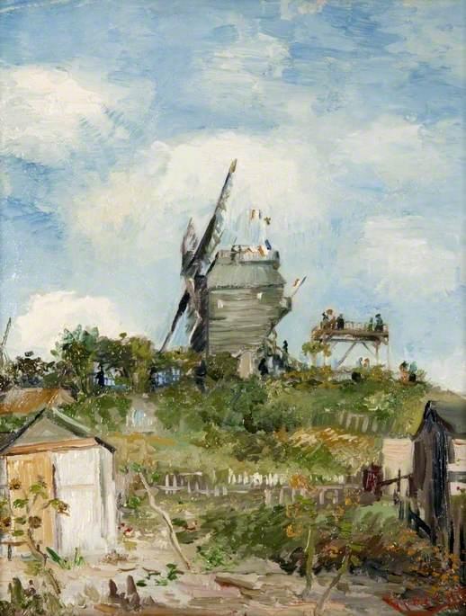 The Blute-Fin Windmill, Montmartre