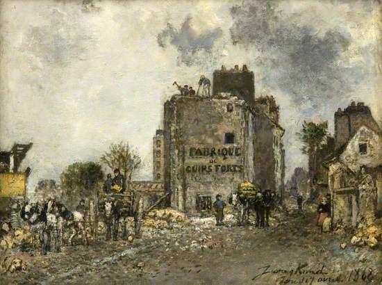 Paris, Demolition of the Rue des Francs-Bourgeois