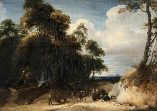 Peasants at the Edge of a Forest