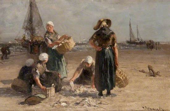 Fishwives on the Beach