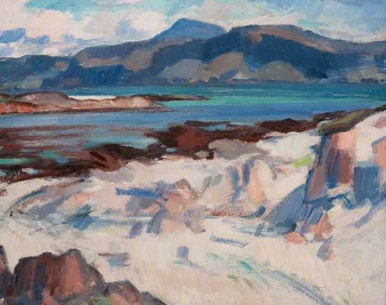 Ben More from Martyrs Bay, Iona