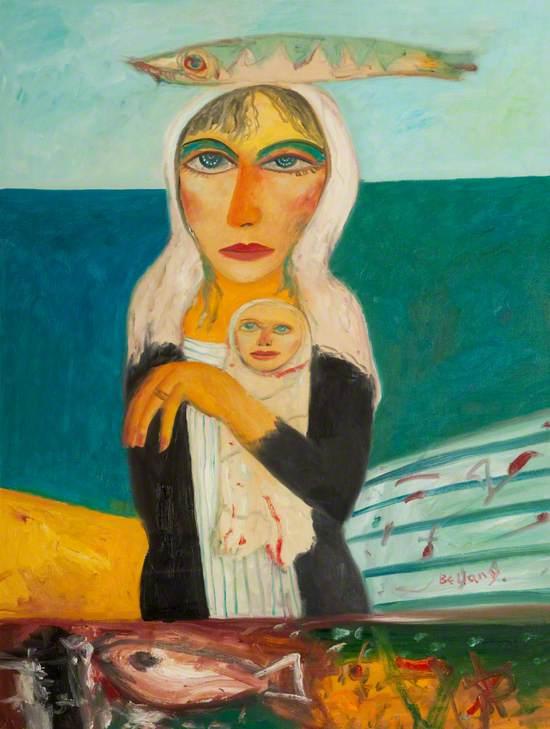 Scottish Mother and Child