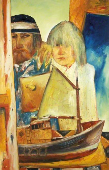 Self Portrait with Juliet
