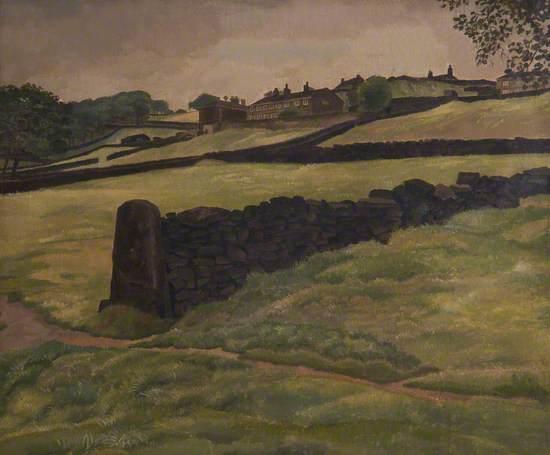Landscape, near Halifax, West Yorkshire