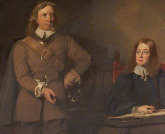 Cromwell Dictating to Milton