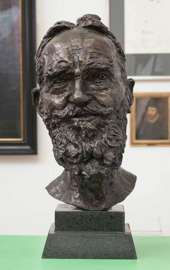 Second Portrait of George Bernard Shaw (1856–1950)