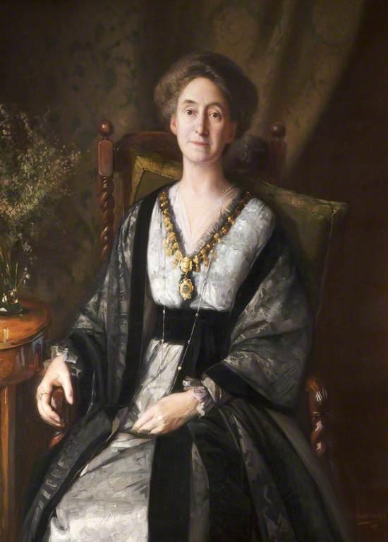 Mrs George Faulkner Armitage, Mayoress of Altrincham