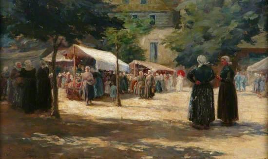 Market Day, Concarneau