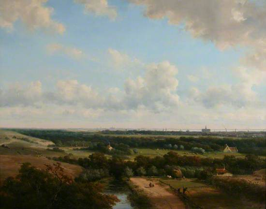 Haarlem from the Dunes