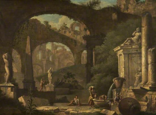 Capriccio with Classical Ruins