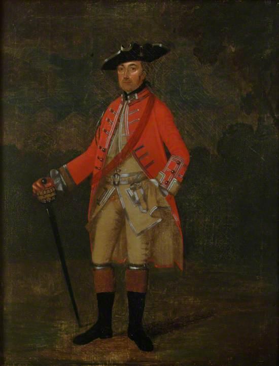 Captain Edward Hall, Earl of Ancrams Dragoons