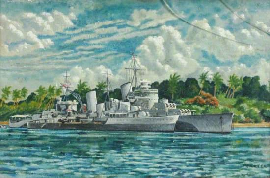 HMS 'Birmingham' in the Second World War
