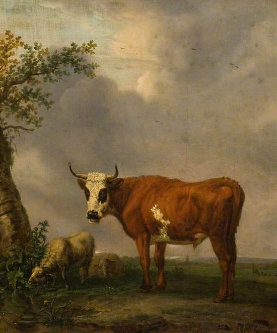 A Bull in a Landscape