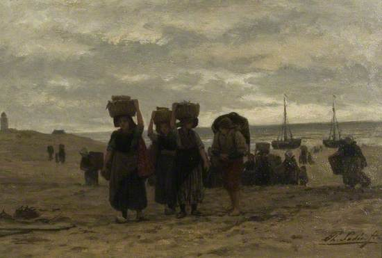 Return from the Boats