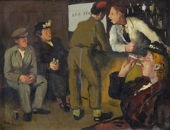 Conversation in the Bar