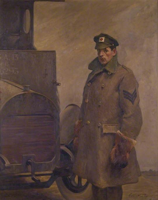 A British Red Cross Society and Order of St John of Jerusalem Motor Driver