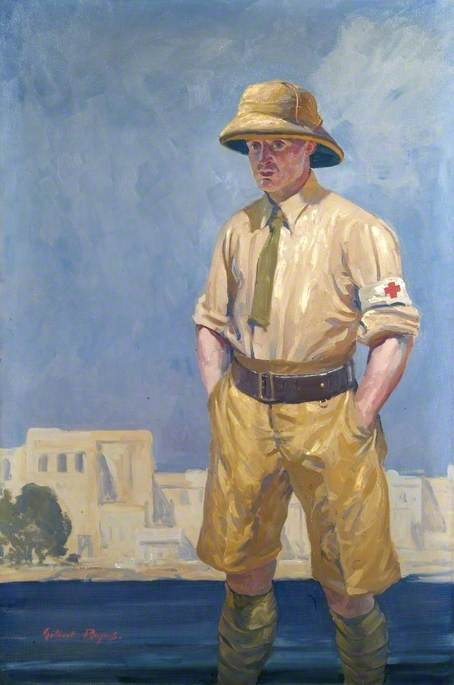 A British Red Cross Society and Order of St John of Jerusalem Officer in Mesopotamia