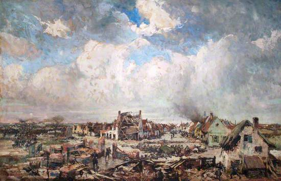 The Battle of Pervyse, 25 October 1914