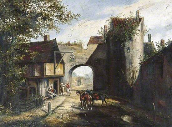 Old Ridingate, Canterbury, as in 1770