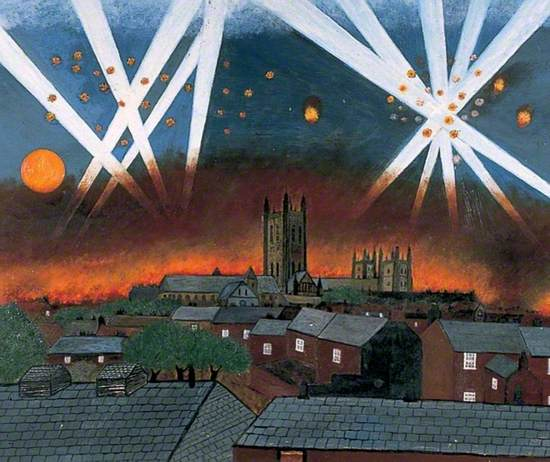 Canterbury Blitz, 1 June 1942