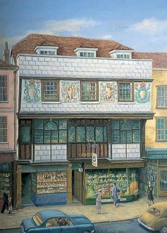 Tudor Tea Rooms, High Street, Canterbury, Kent