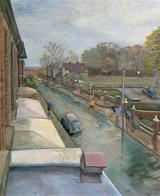 Dull Prospect near Gillingham Park, Kent