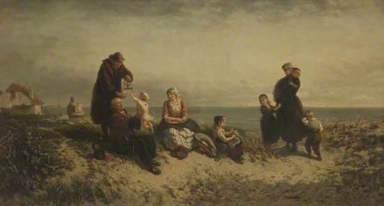 Sand Dunes at Scheveningen