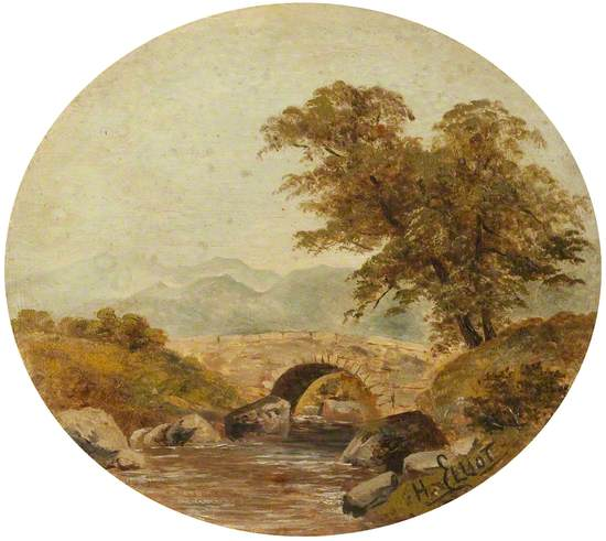 A Bridge near Llangollen