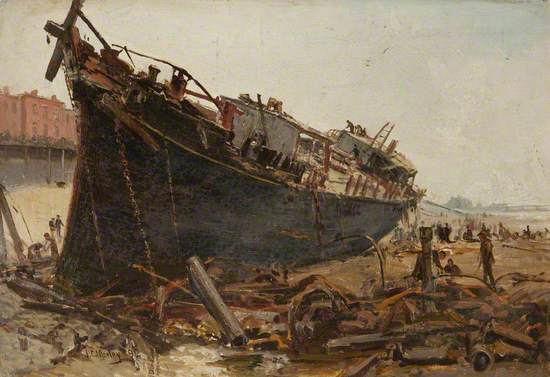 The Wreck of the 'Sirene'
