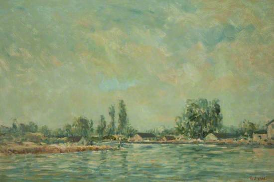 Landscape on the Loire