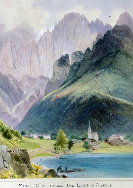Monte Civetta and Lago di Alleghe