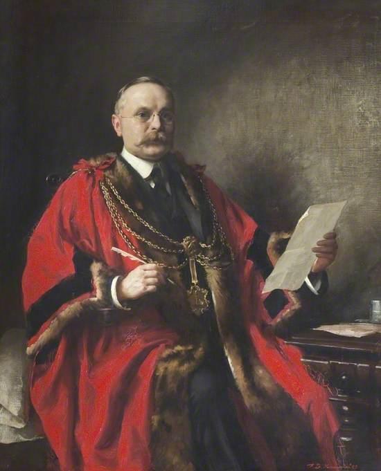 Frank Barrett, Mayor of Grimsby (1908 & 1924)