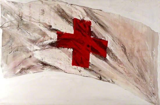 British Red Cross Flag