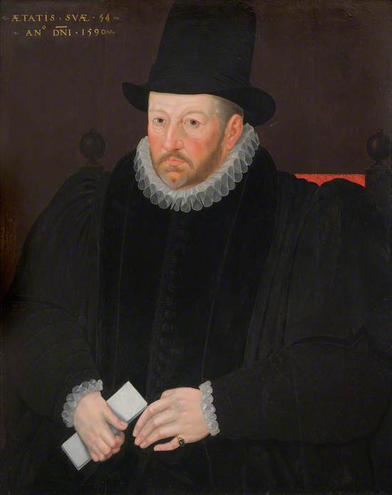 Thomas Fanshawe (1533–1601), Second Remembrancer of the Exchequer
