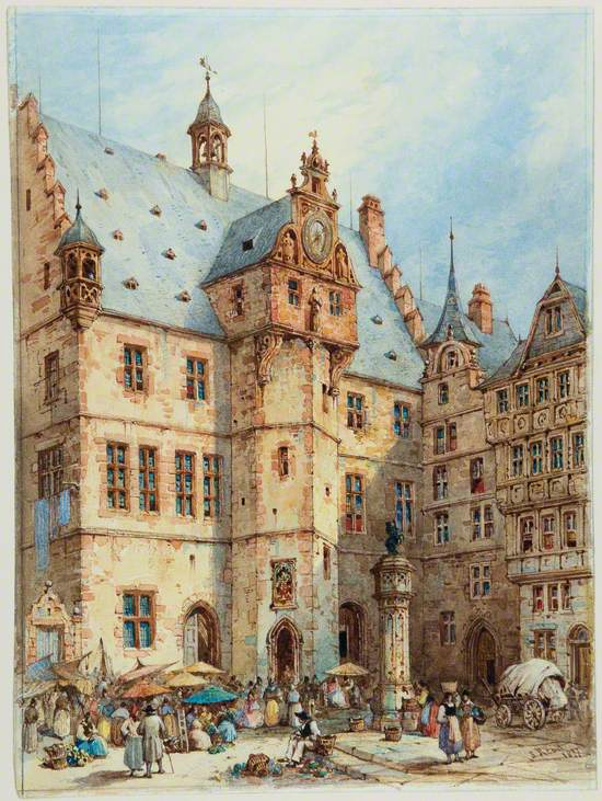 The Rathaus, Marburg