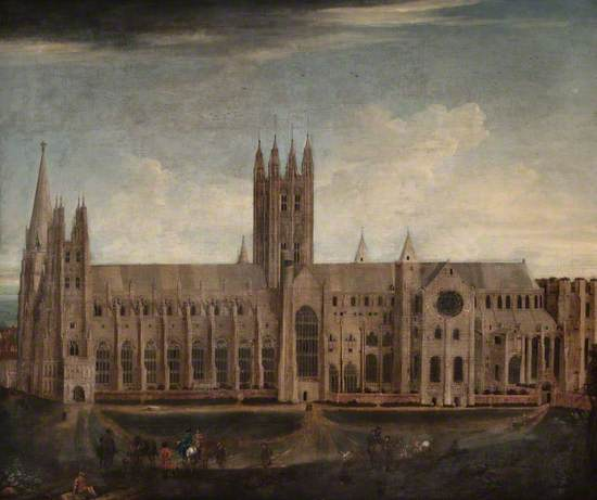 The South Side of Canterbury Cathedral