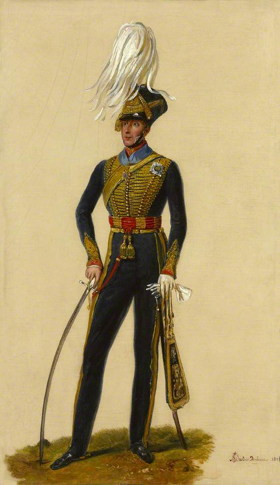 Lieutenant General Sir Thomas Downman, KCH, Royal Horse Artillery