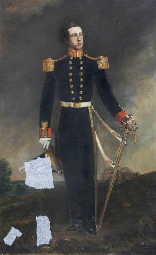 Second Lieutenant (later Second Captain) George Sisson Harward, Royal Artillery