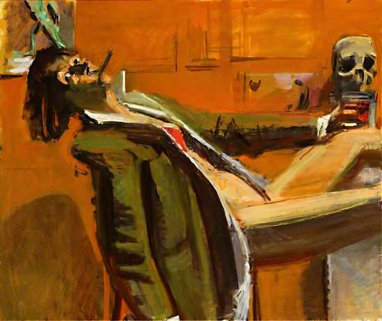 My Sullen Art: Self Portrait as Dylan Thomas
