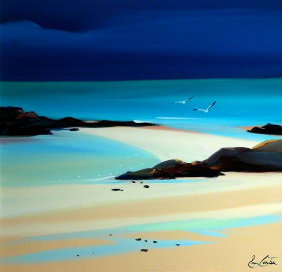 Sand Bar and Gulls, Coll