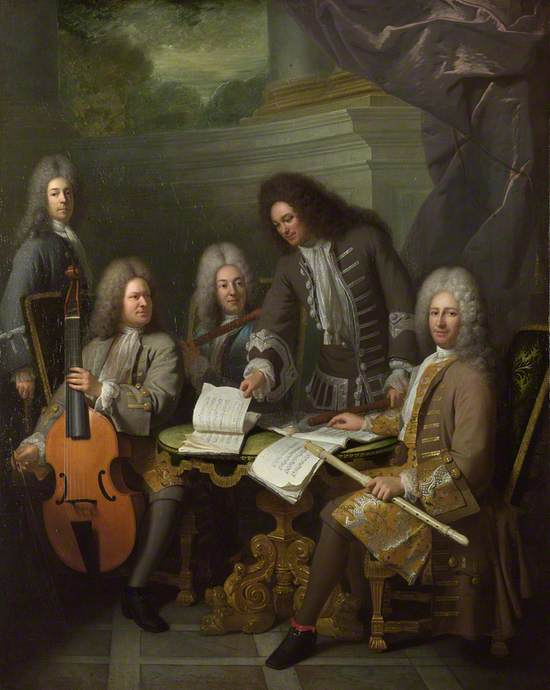 La Barre and Other Musicians