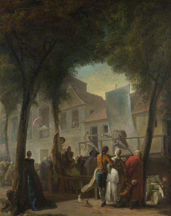 A Street Show in Paris