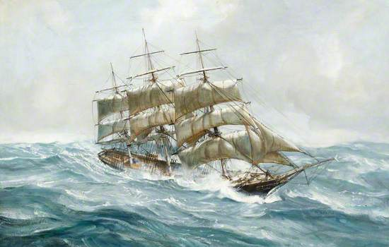 The Tea Clipper 'Ocean Rover' on Passage